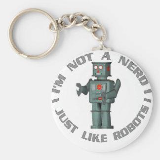 NerdBot Key Ring