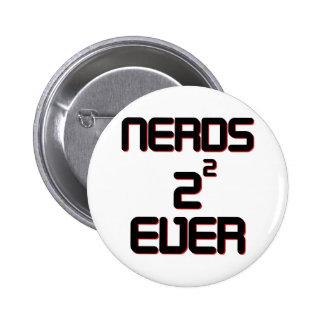 Nerds 4 Ever 6 Cm Round Badge