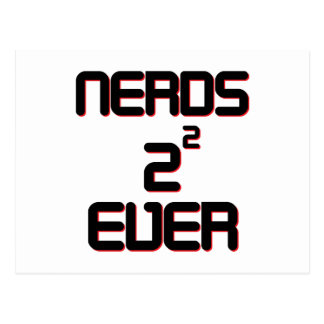 Nerds 4 Ever Post Cards
