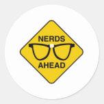 Nerds Ahead Stickers