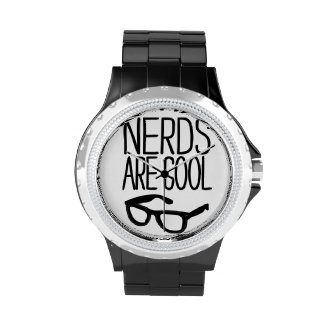 Nerds are cool wristwatches
