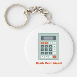 Nerds Best Friend Key Chain