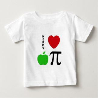 Nerds Love Apple Pie Baby T-Shirt