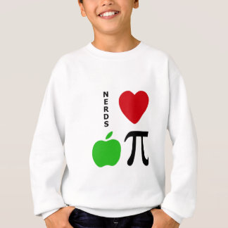Nerds Love Apple Pie Sweatshirt