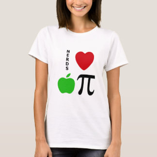 Nerds Love Apple Pie T-Shirt