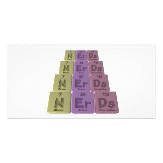 Nerds-N-Er-Ds-Nitrogen-Erbium-Darmstadtium png Photo Greeting Card
