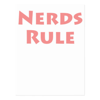 Nerds Rule! Postcard