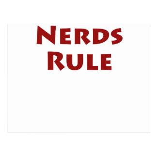 Nerds Rule Postcard