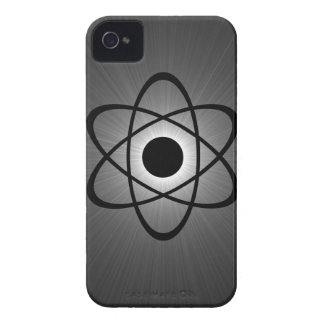 Nerdy Atomic BT iPhone 4 Case, Gray iPhone 4 Cover
