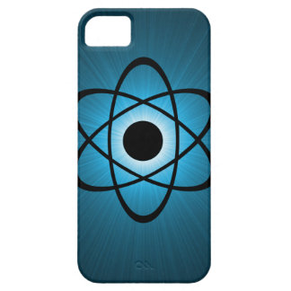 Nerdy Atomic BT iPhone 5 Case, Blue iPhone 5 Case