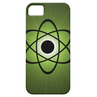 Nerdy Atomic BT iPhone 5 Case, Green Barely There iPhone 5 Case