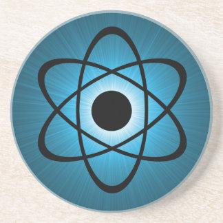Nerdy Atomic Coaster, Blue Coaster