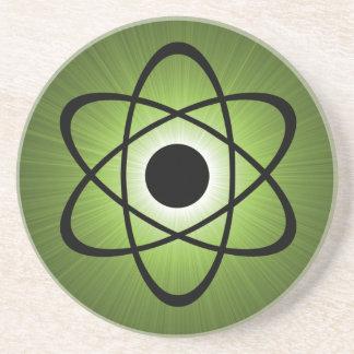 Nerdy Atomic Coaster, Green Coaster