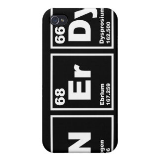 Nerdy Elements Cover For iPhone 4