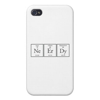 Nerdy iPhone 4 Cover
