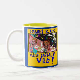 NERDY KIDS! Two-Tone MUG