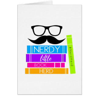 Nerdy Little Book Herd Card