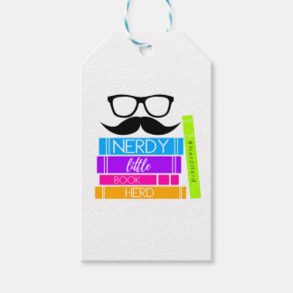 Nerdy Little Book Herd Gift Tags