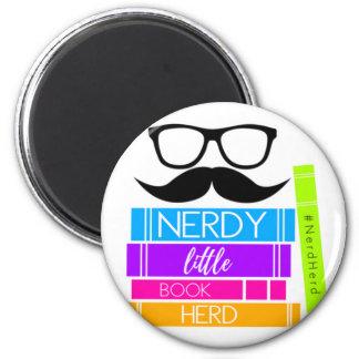 Nerdy Little Book Herd Magnet