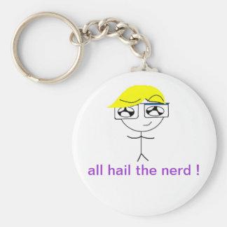 Nerdy Little Boy Keychain
