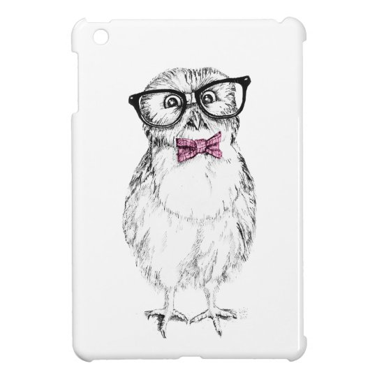 Nerdy Owlet iPad Mini Case