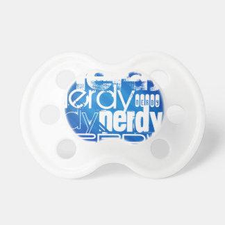 Nerdy; Royal Blue Stripes BooginHead Pacifier