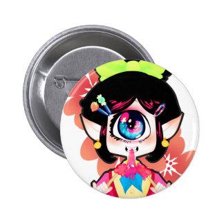Neri Ame 6 Cm Round Badge