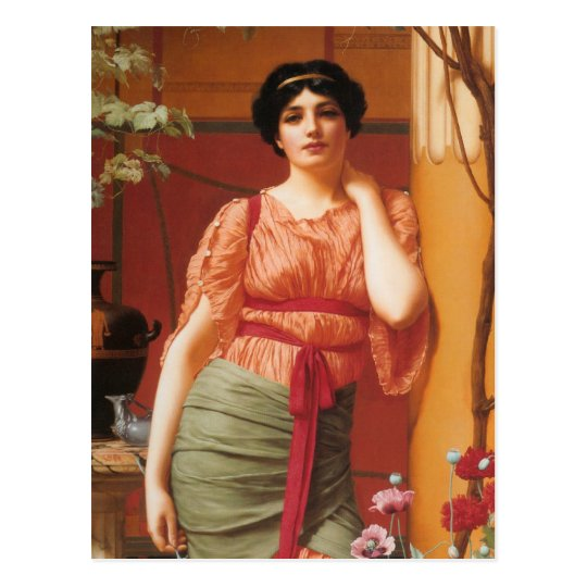 Nerissa Greek Art Postcard