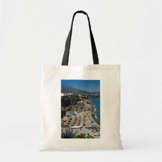 Nerja Malaga Spain Tote Bags