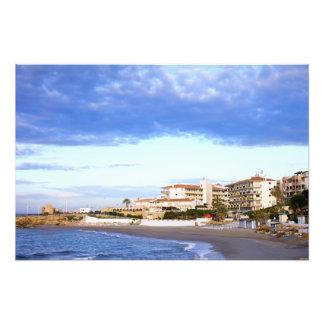 Nerja on Costa del Sol in Spain Art Photo