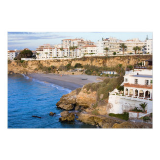 Nerja on Costa del Sol in Spain Photo