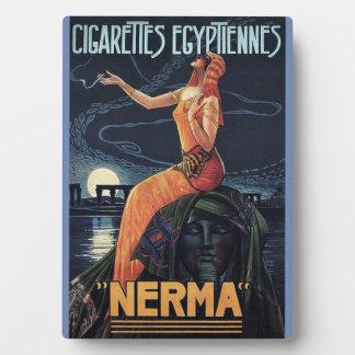 Nerma Egyptian Cigarettes Plaque