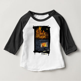 Nero burning Rome, with matches.. Baby T-Shirt