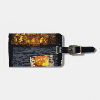 Nero burning Rome, with matches.. Luggage Tag