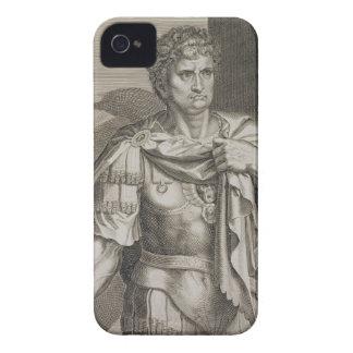 Nero Claudius Caesar Emperor of Rome 54-68 AD engr iPhone 4 Cover