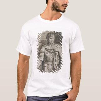 Nero Claudius Caesar Emperor of Rome 54-68 AD engr T-Shirt