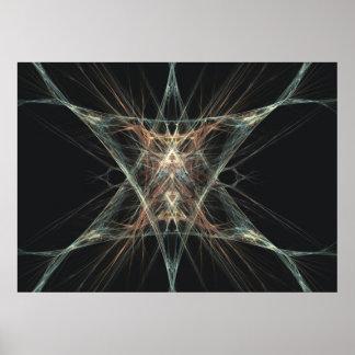 Nerve Synapse Print
