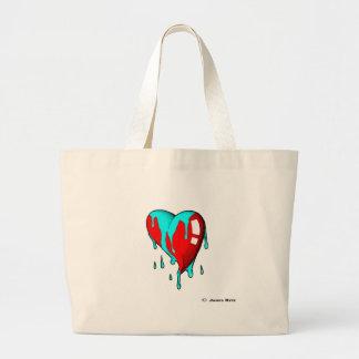 Nervous in Love Jumbo Tote Bag