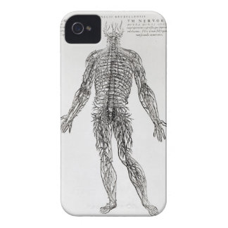 Nervous System (b/w print) iPhone 4 Covers