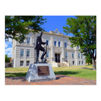 Ness County, Kansas, Courthouse Postcard