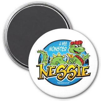 Nessie: A Wee Monster 7.5 Cm Round Magnet