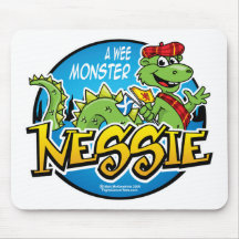 Nessie: A Wee Monster Mouse Pad