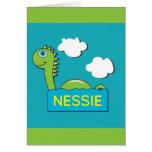 Nessie Greeting Card