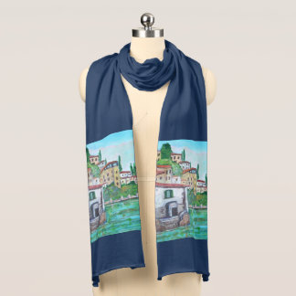 Nesso an ancient town - Scarf