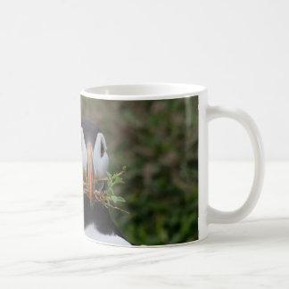 Nest Builder Puffin Coffee Mug