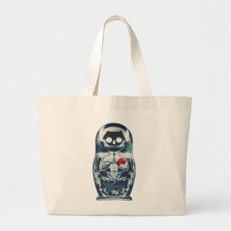 Nesting Doll Large Tote Bag