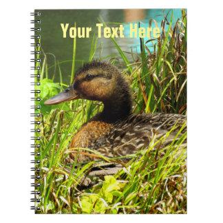 Nesting Duck Notebook