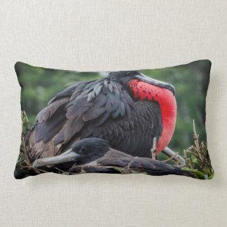 Nesting Frigate Bird pair Pillow