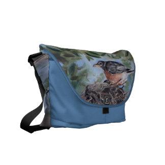 Nesting Robin Messenger Bag