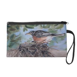 Nesting Robin Wristlet Purses